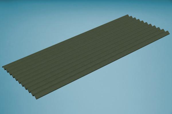 Bitumenwellplatte grün