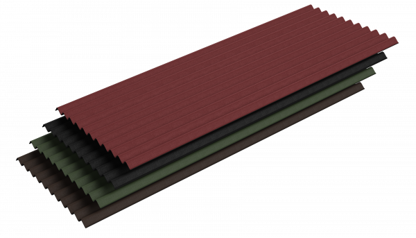 Bitumenwellplatten - 2000 x 830 mm